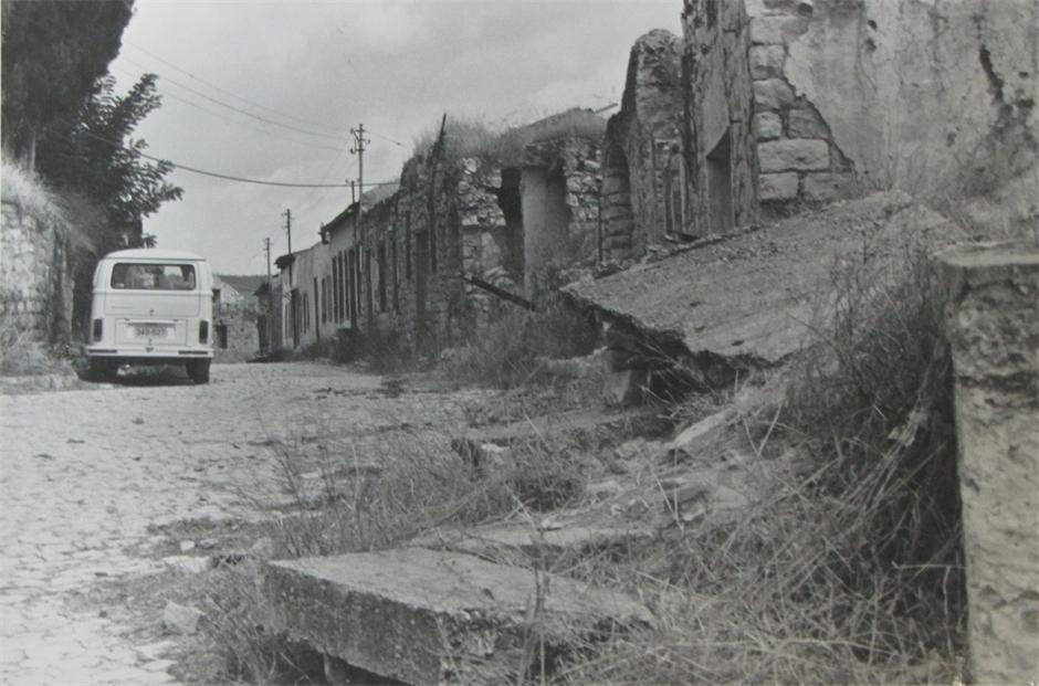 חורבות ברחוב העליון 1975
