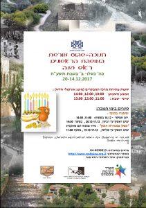 מסע במנהרת הזמן - סיור עם מיקה גליקסמן- חנוכה @ ראש פינה | ראש פינה | מחוז הצפון | ישראל